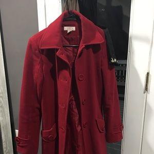 JLO Red Coat